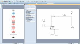 Batch process modeling, Batch distillation flowsheet - simulator, optimization
