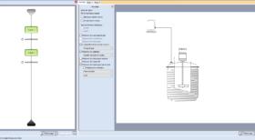 Interface BatchReactor simulation des réacteurs chimiques discontinues