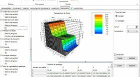 Calculateur, résultat rapport de simulation logiciel - échangeur de chaleur à plaque