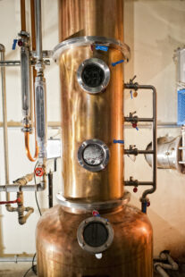 Distillation batch - Distillation discontinue - distillation discontinue fractionnée.