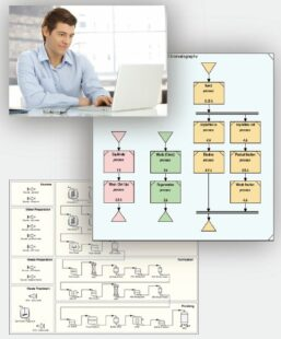 Analyzing and optimizing process performance - A process simulator for biotech, pharmaceutical and life science industries