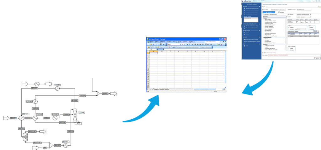 Pinch analysis - process energy integration tool in Microsoft Excel™
