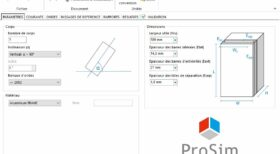 Une description précise des échangeurs de chaleur industriels, paramètres dans ProSec. Dimensionnement