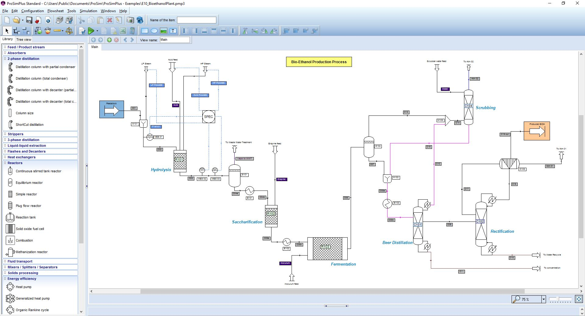 Prosimplus Software Steady State Simulation And Optimization Of Processes Prosim