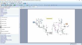 Flowsheet ProSimPlus - Logiciel de simulation des procédés industriels continus