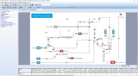 procédé mono pression - simulation avec ProSimPlus HNO3